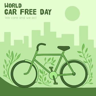 Giornata mondiale senza auto con bici