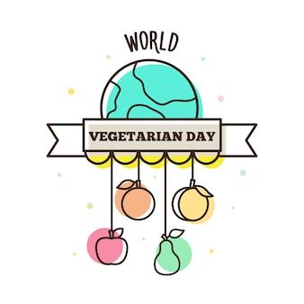 Giornata mondiale vegetariana.