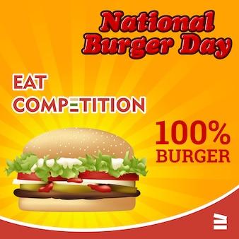 Giornata nazionale di hamburger