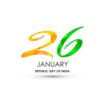 Giorno 26 gennaio repubblica indiana