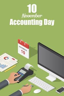 Giorno contabile di novembre