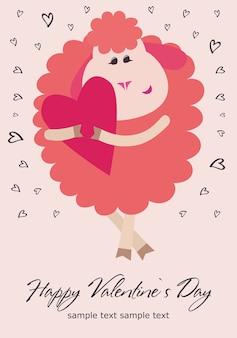 Giorno del biglietto di s. valentino felice