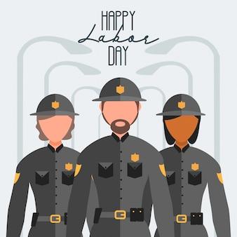 Giorno del lavoro felice del lavoratore