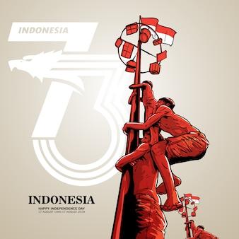 Giorno dell'indipendenza dell'indonesia