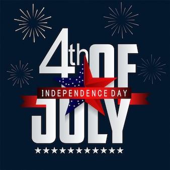 Giorno dell'indipendenza negli stati uniti d'america.