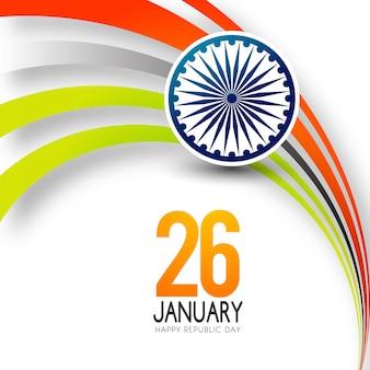Giorno della repubblica indiana 26 gennaio