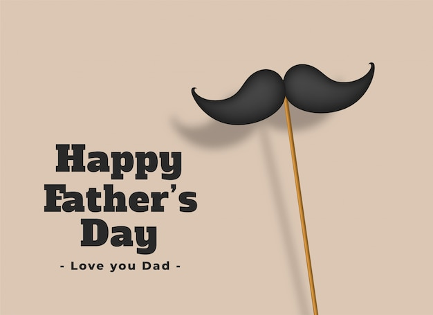 Giorno di padri felice amore papà card