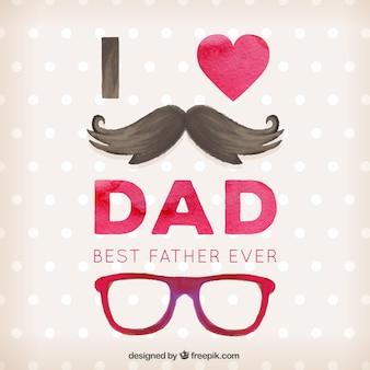 Giorno illustrazione arte del padre