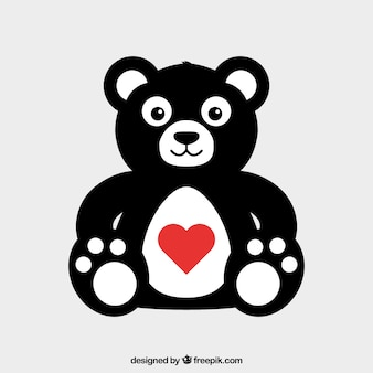 Giorno orsacchiotto di san valentino