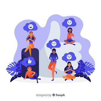 Giovani con simbolo simile