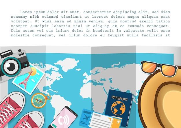 Gli accessori viaggiano in tutto il mondo.