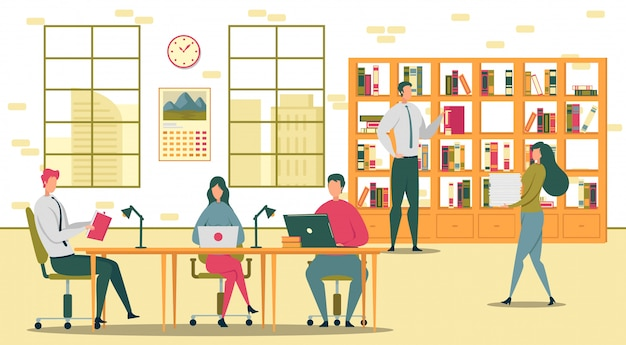 Gli studenti si preparano per gli esami nella biblioteca universitaria.