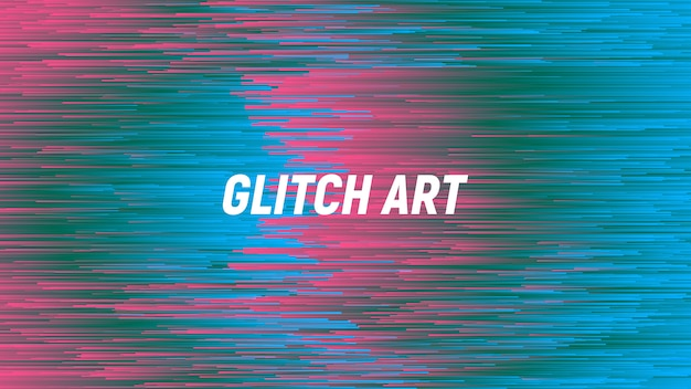 Glitch digitale art abstract background