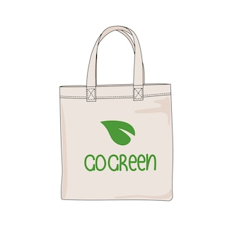 Go green stampa problema ecologico