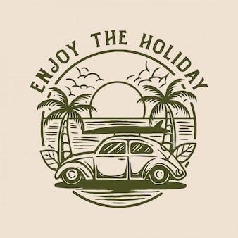 Goditi le vacanze
