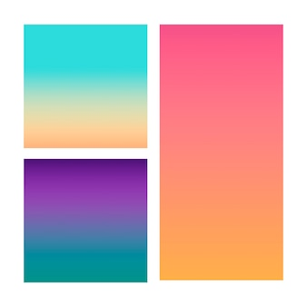 Gradiente astratto nella sfera di viola, rosa, blu