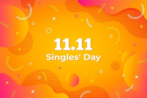 Gradiente astratto single day concept