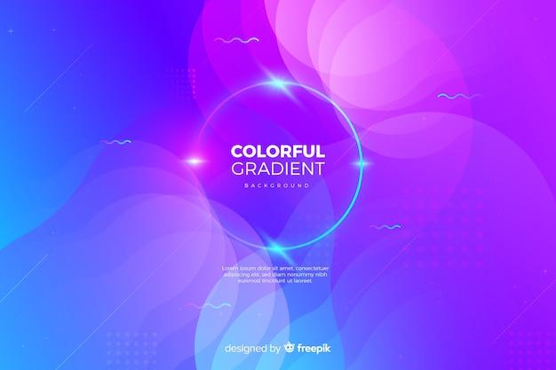Gradiente di sfondo colorato
