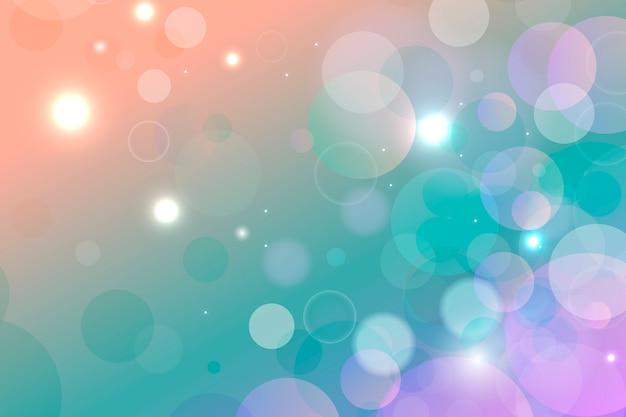 Gradiente di sfondo con effetto bokeh