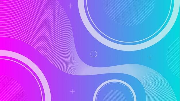 Gradiente di sfondo geometrico