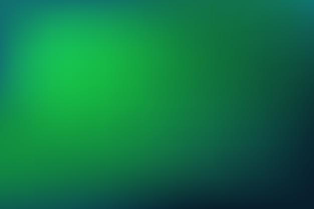 Gradiente di sfondo nei toni del verde