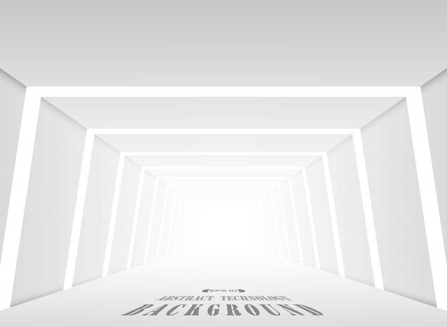 Gradiente di sfumatura futuristico posto sfondo grigio.