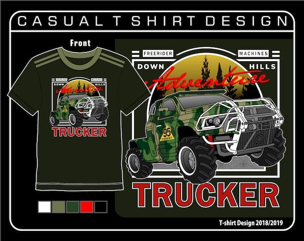Grafica maglietta casual