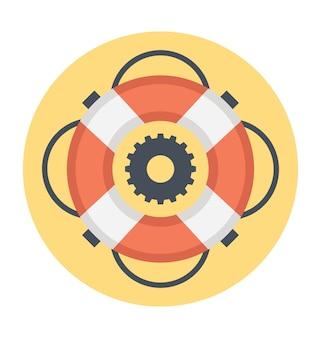 Grafica vettoriale per nuoto, salvagente, piscine, spiaggia, vacanze e giocattoli gonfiabili vi