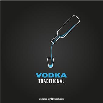 Grafica vettoriale vodka gratis