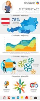 Grafici di analisi e gestione impostati per i modelli di presentazione