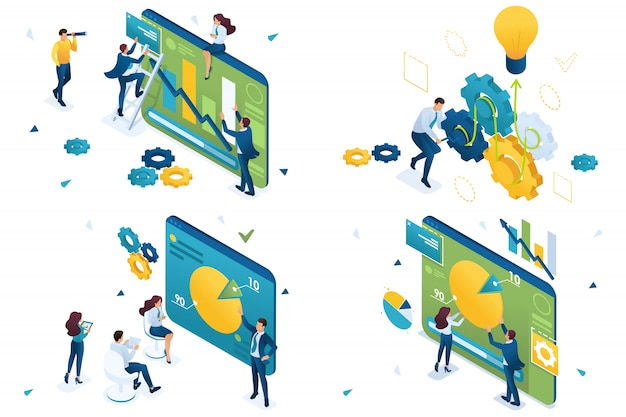Grafici e idee, idee di business, analisi
