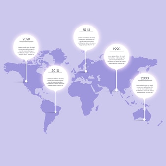 Grafici informativi per le presentazioni aziendali. può essere utilizzato per il layout del sito web, banner numerati, diagramma, linee di ritaglio orizzontali, web.