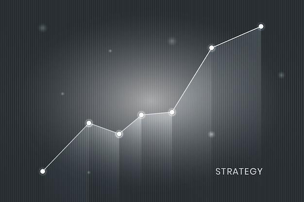 Grafico di crescita aziendale