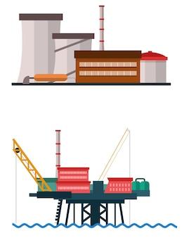 Grande edificio industriale e industriale