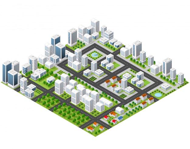 Grande metropoli 3d