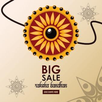 Grande modello di vendita di raksha bandhan
