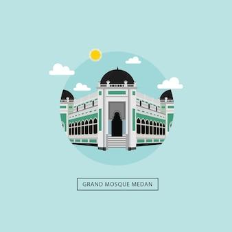 Grande moschea di medan