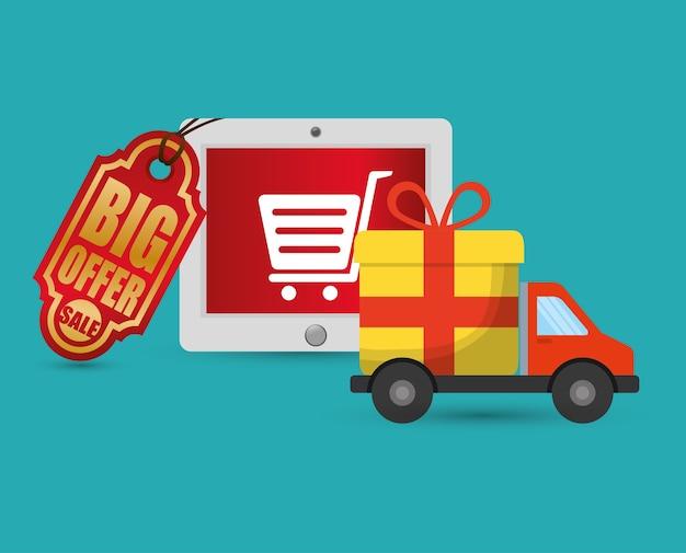 Grande offerta vendita online consegna regalo camion