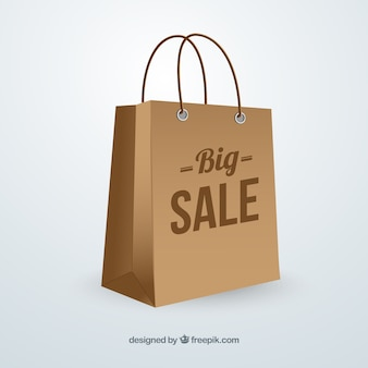 Grande sacchetto vendita