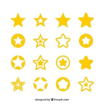 Grande set di stelle