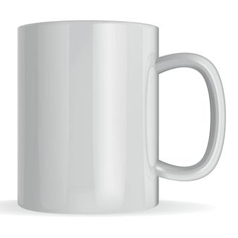 Grande tazza di vettore fotorealistico