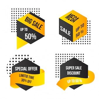 Grande vendita offerta speciale di un giorno mega vendita
