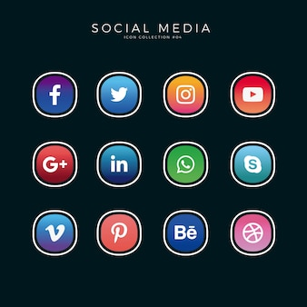 Grandi icone social media