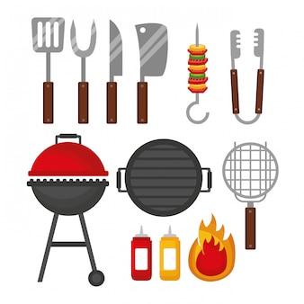 Griglia per barbecue