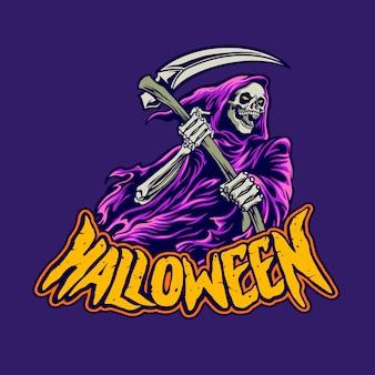 Grim reaper di halloween