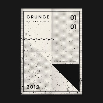 Grunge afflitto poster di texture