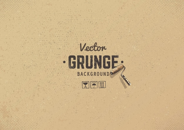 Grunge background di cartone