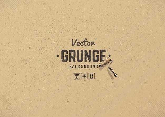 Grunge background di cartone