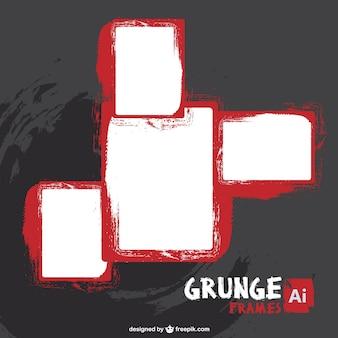 Grunge frame libero