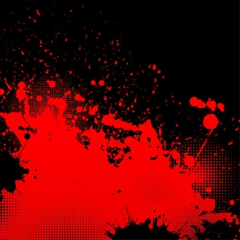 Grunge splatter background